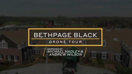 Bethpage Black clubhouse