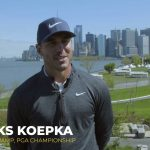 Brooks Koepka in NYC