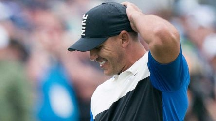 Brooks Koepka smiles after winning the 2019 PGA Championship.