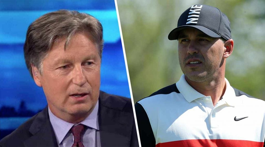 Brooks Koepka and Brandel Chamblee give the golf world plenty to talk about.