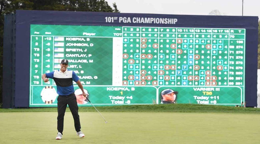 Brooks Koepka won the 2019 PGA Championship.