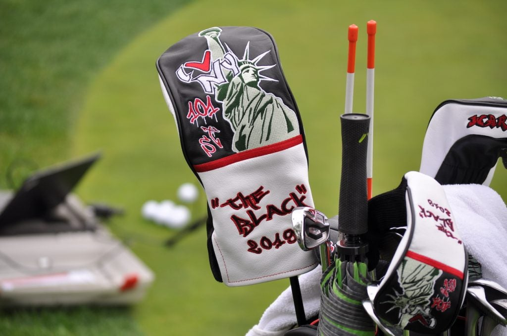 Callaway's special edition headcovers for the PGA Championship.