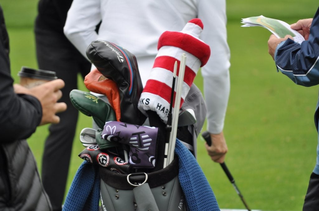 Matt Fitzpatrick's favorite course on the PGA Tour schedule? That would be Harbour Town Golf Links. The candy cane lighthouse headcover is a dead giveaway.