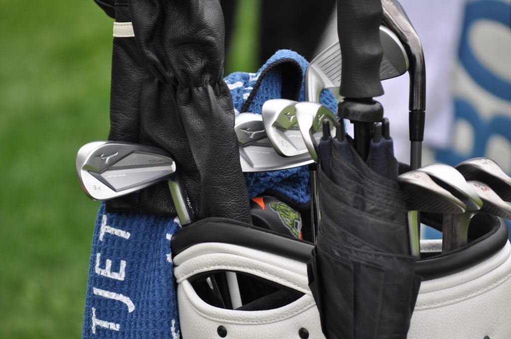 Mizuno's JPX 919 Tour are Brooks Koepka's iron of choice.