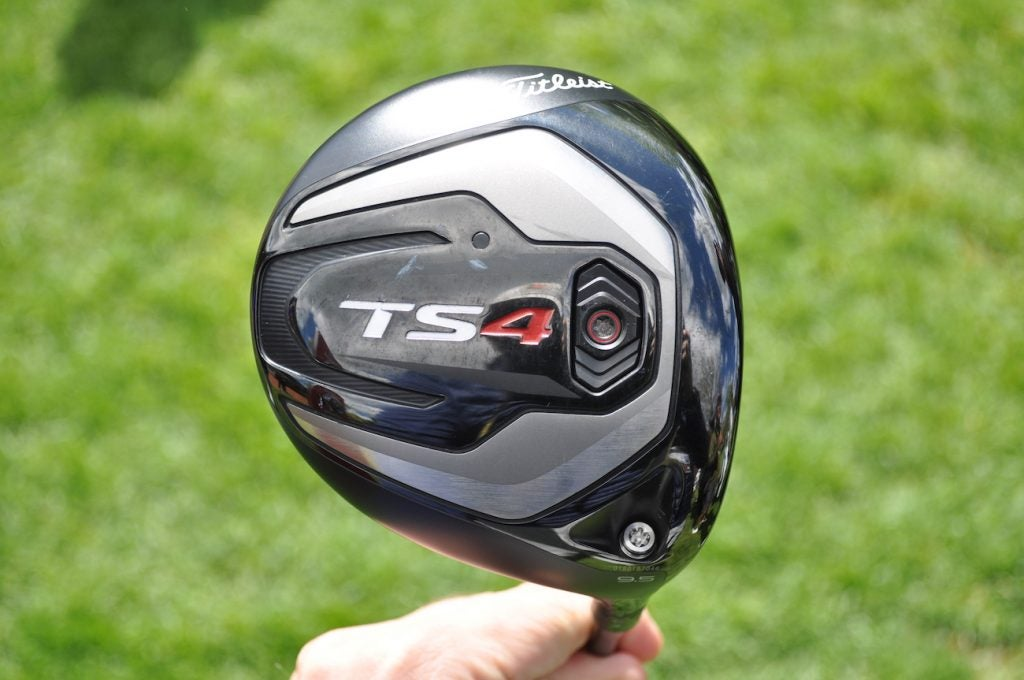 Max Homa was the first to win with Titleist's TS4 driver.