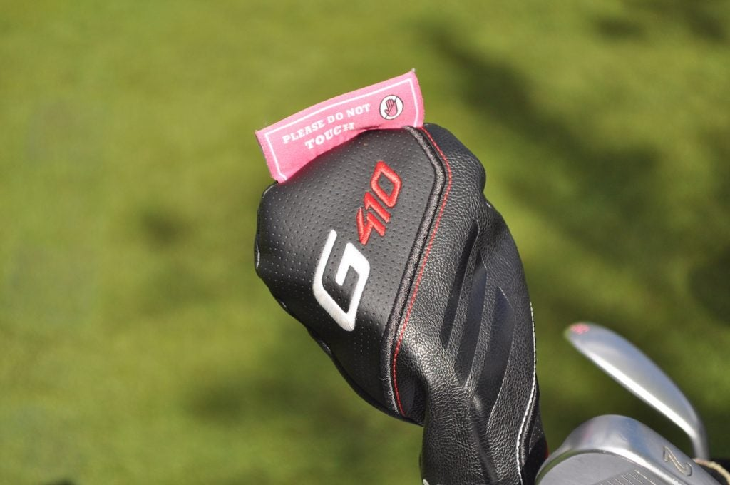 Don't even think about touching Bubba Watson's Ping G410 woods. Seriously.