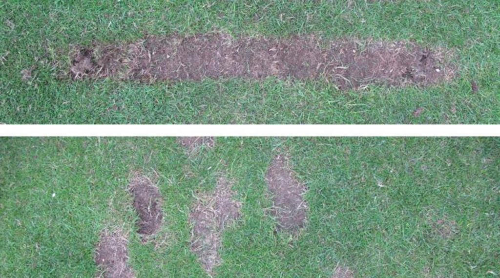 Be kind to the range, Practice in a straight line instead of creating divots all over the place.