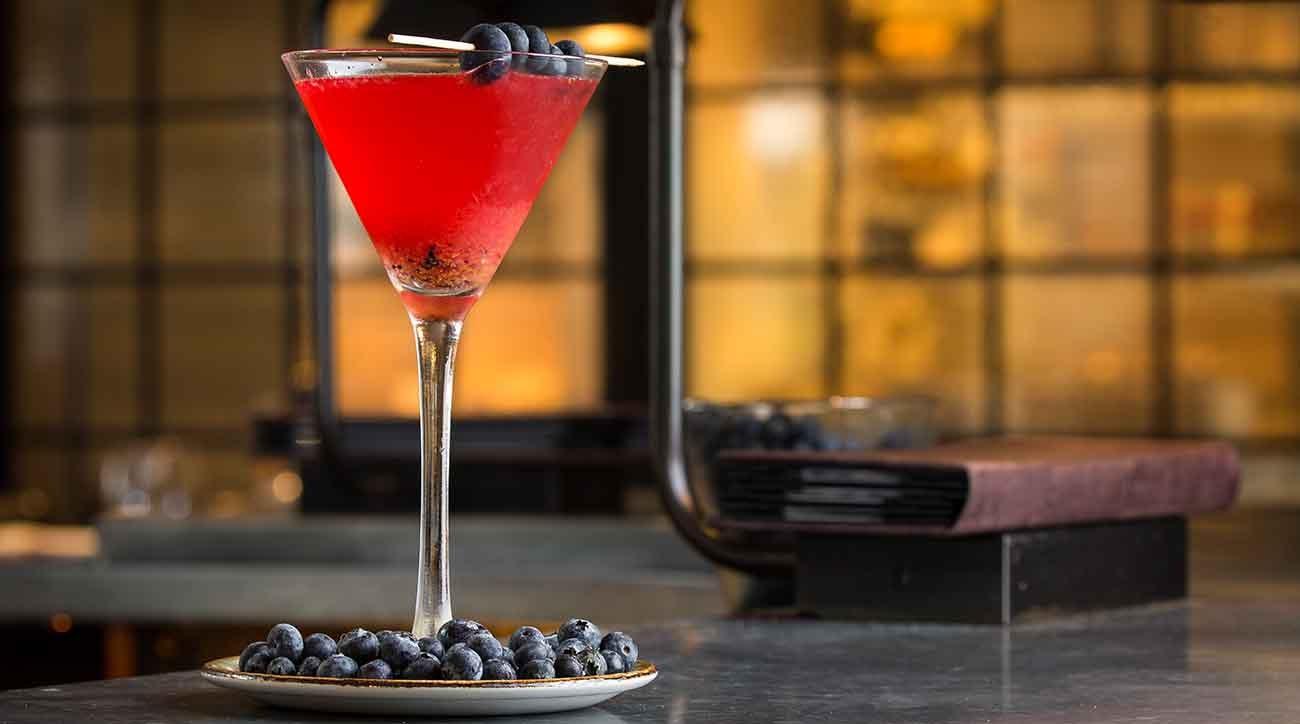 Blueberries a la Fred, National Tavern at Reynolds Lake Oconee
