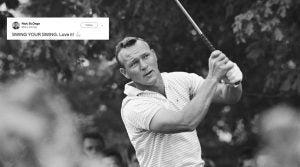 Arnold Palmer swing