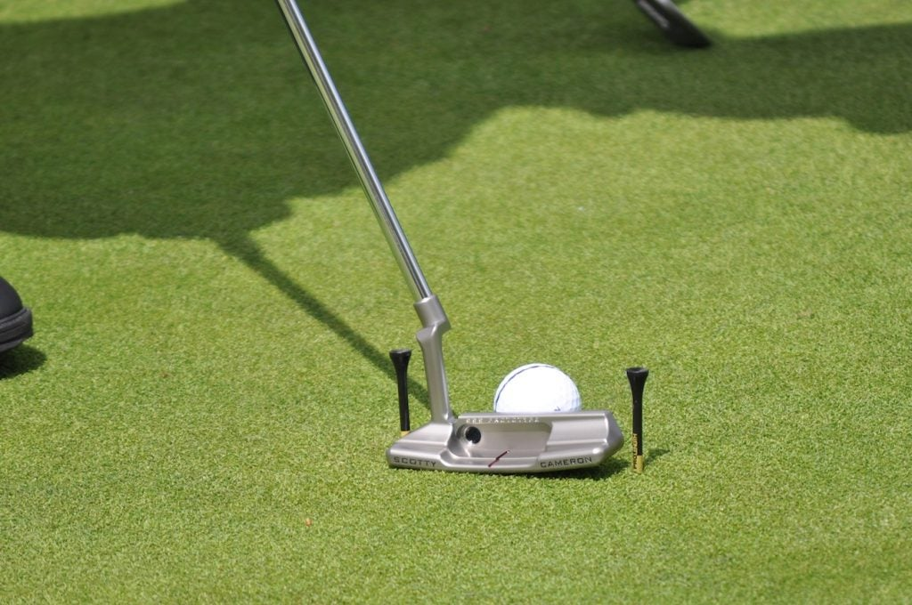 Hideki Matsuyama tested a Scotty Cameron Newport 2 SSS Prototype on Wednesday.