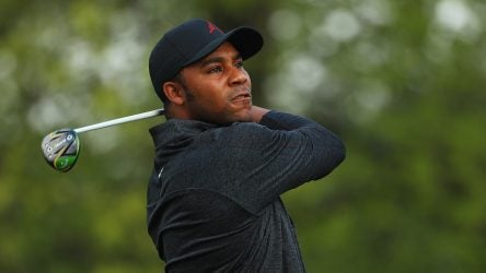 Callaway's deal with Harold Varner III is for the metalwoods, putter and staff bag.