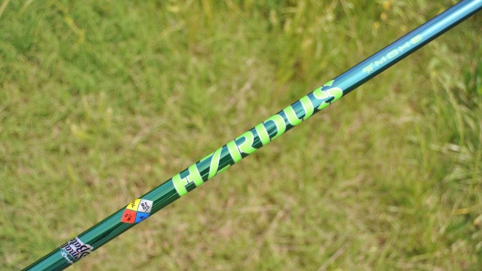 Project X's HZRDUS Smoke Green shaft.