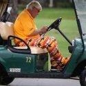 John Daly Tiger Woods cart