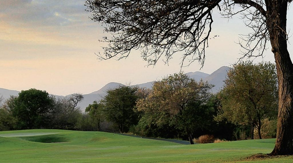 The last stop for Rovos's high-handicap railroaders is Leopard Creek, which is South Africa's best track.