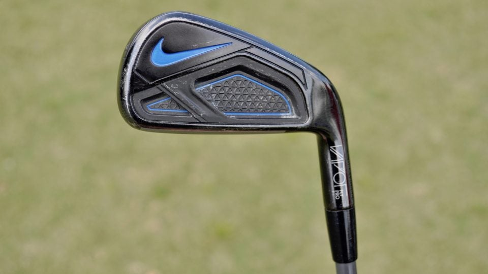 Brooks Koepka's Nike Vapor Fly Pro 3-iron.