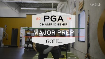 Picture of Brooks Koepka working out
