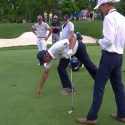 Matt Kuchar ruling pitch mark