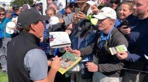 Phil Mickelson Bethpage black autographs pga championship