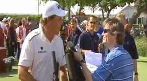 Phil Mickelson and Scoops Callahan