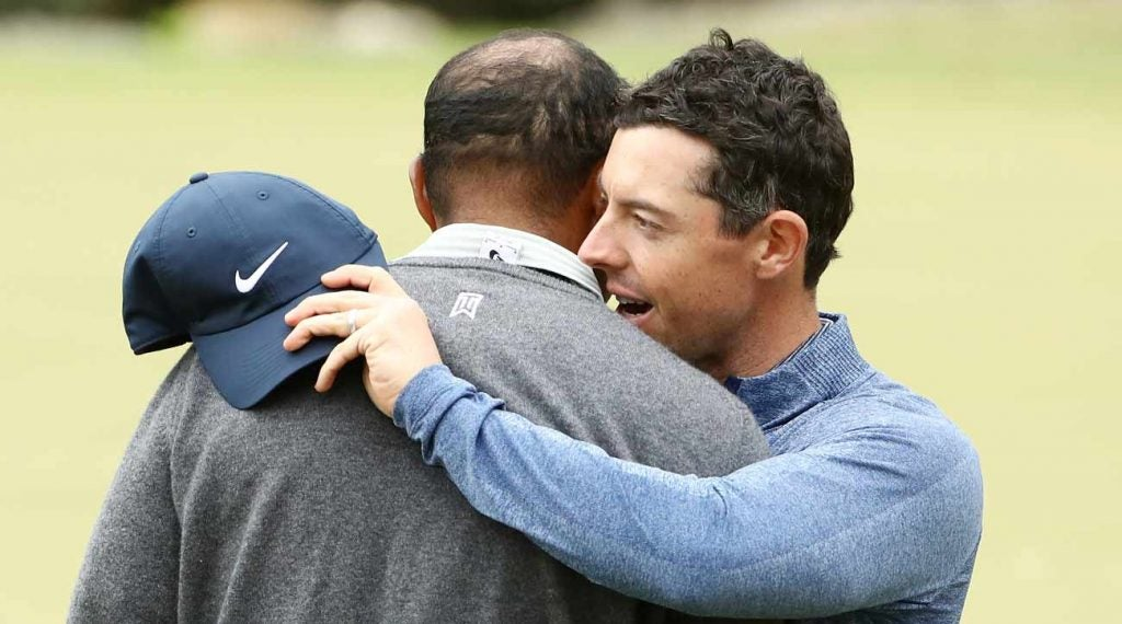 Rory McIlroy had lunch with Tiger Woods in Jupiter in 2017 and came away unsure of the legend's golf future.