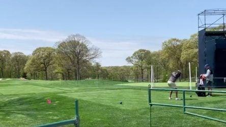Tiger Woods Bethpage Black