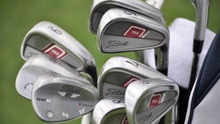 Steve Stricker's Titleist 755 Forged irons were released more than a decade ago.
