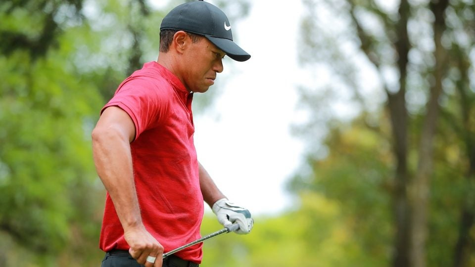 Before loft and lie machines were available, Tiger Woods would make this adjustment to get his clubs just right.
