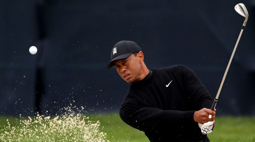 Tiger Woods is the favorite to win at Bethpage this week.
