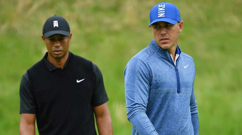 The records that could be broken this weekend include benchmarks set by Tiger Woods.