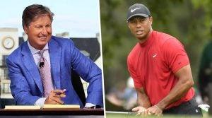 Brandel Chamblee Tiger Woods