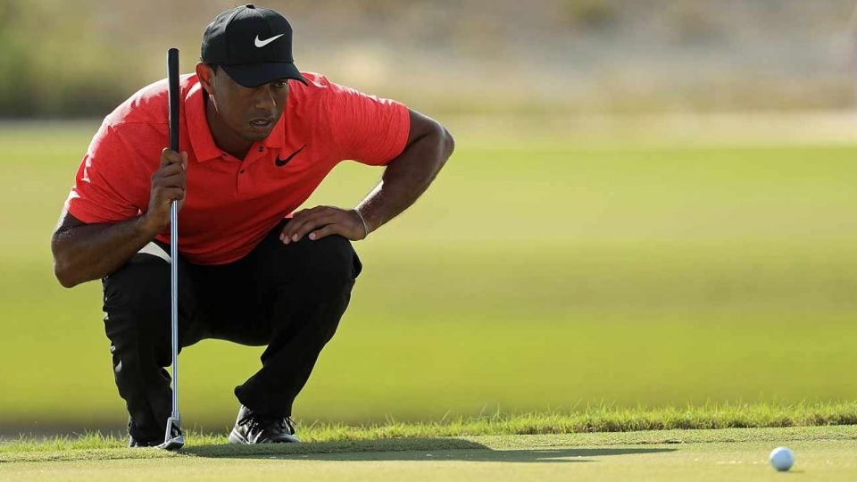 Tiger Woods putting lesson how to enter