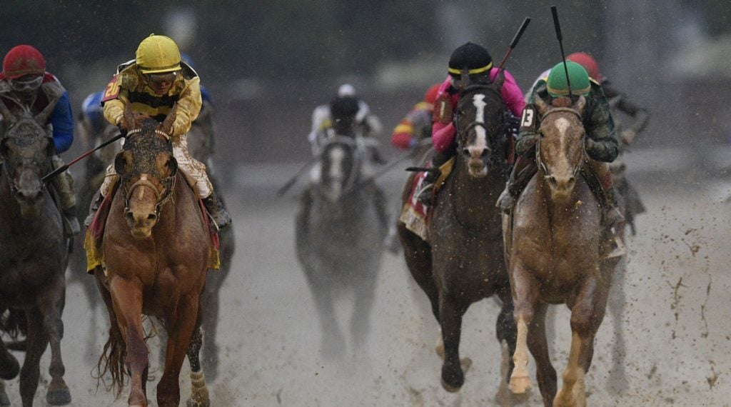It was a controversial ending at the Kentucky Derby on Saturday.