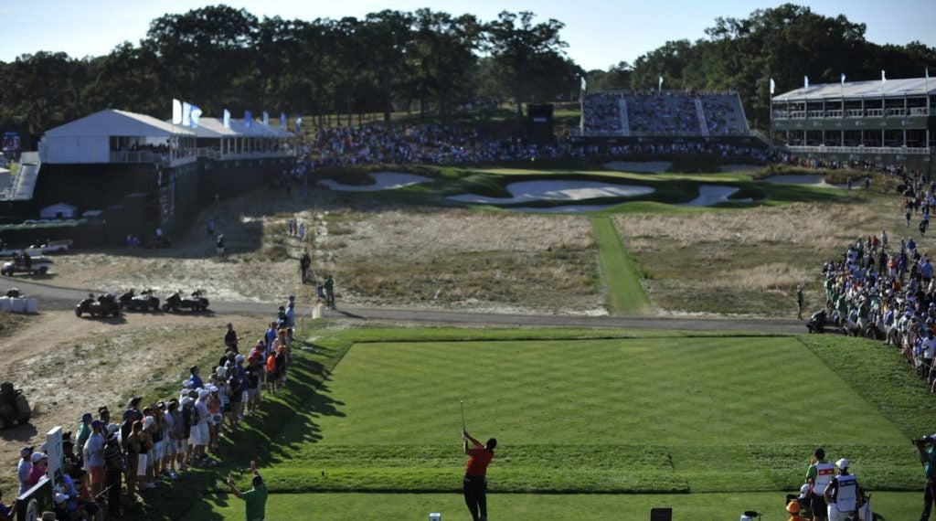 Bethpage will host the PGA Championship for the first time this month.