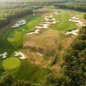 A scenic view of 2019 PGA Championship venue Bethpage Black.