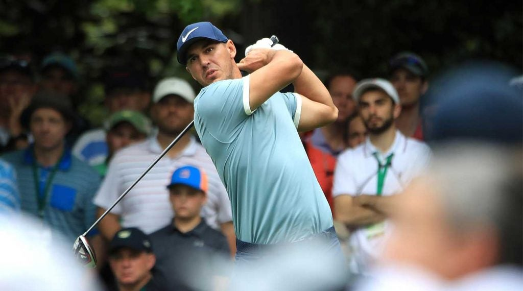 Brooks Koepka defends his PGA Championship title this week, and he's been picked by many to triumph at Bethpage Black.