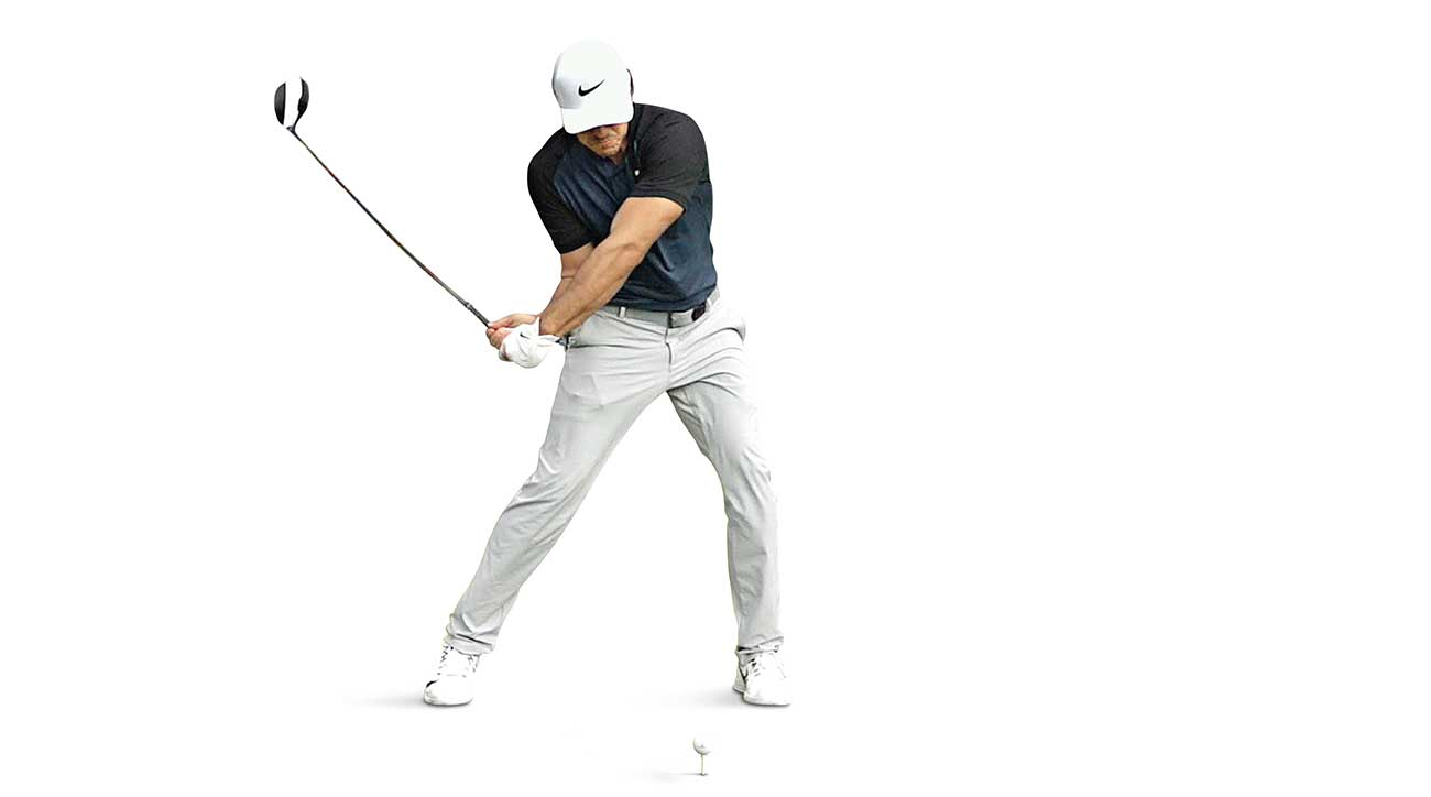 Brooks Koepka's golf swing, according to artificial intelligence