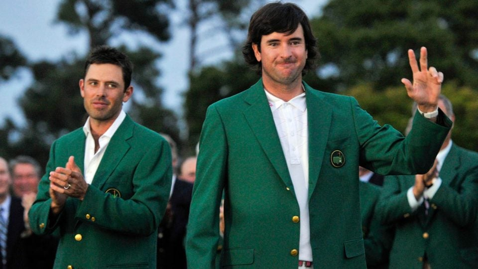 New York Times Crossword: Bubba Watson at the 2012 Masters