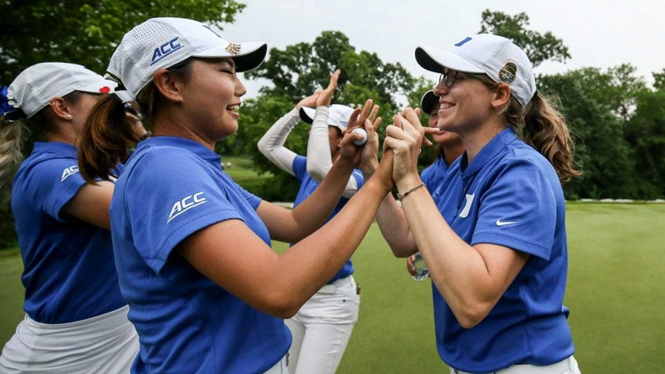 The Duke women's golf team won its seventh team title in team history.