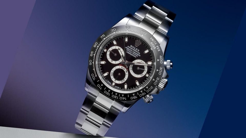 Golf watches: Rolex Daytona