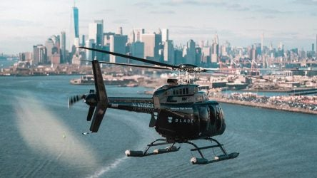 Helicopter ride to Bethpage Black, 2019 PGA Championship