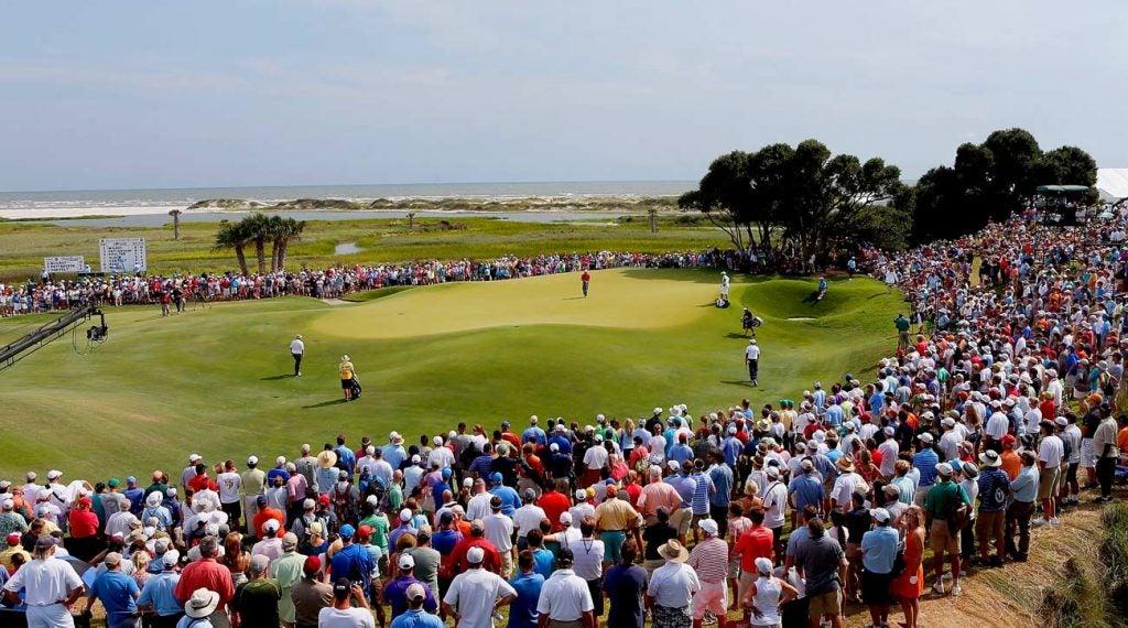 L'île de Kiawah guérit le championnat PGA 2012.