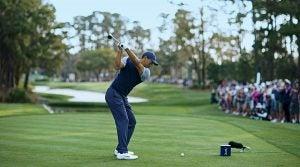 Lighter shafts for Tiger Woods