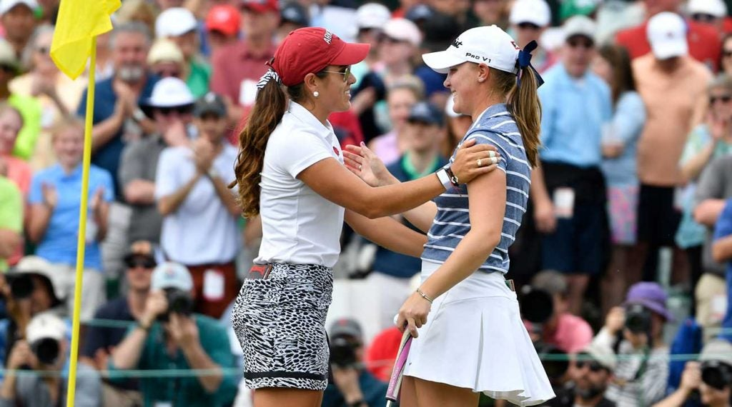 Maria Fassi and Jennifer Kupcho put on a show at the Augusta National Women's Amateur.