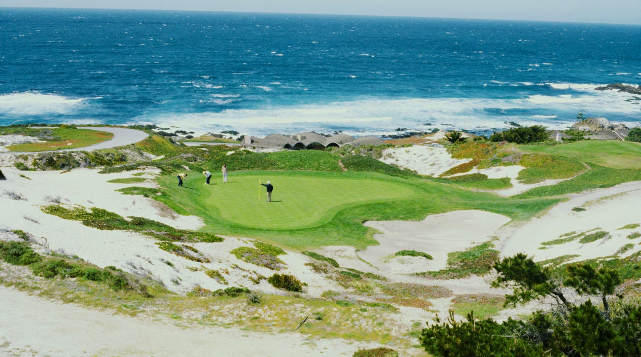 Spyglass, $395: Pebble may get the plaudits, but those who step foot on Spyglass swear by it. Maybe the most naturally beautiful course in the country, Spyglass is a bucket-lister for golf fans throughout the country. But, like Pebble, it'll leave a dent in that piggy bank.