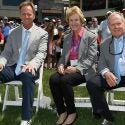Jack, Barbara and Jackie Nicklaus at the Memorial.