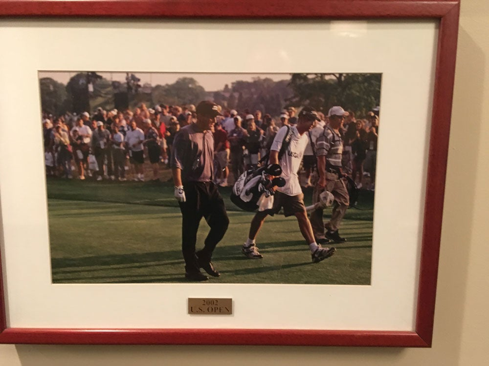 Phil Mickelson has a fan (or two) at Bethpage.