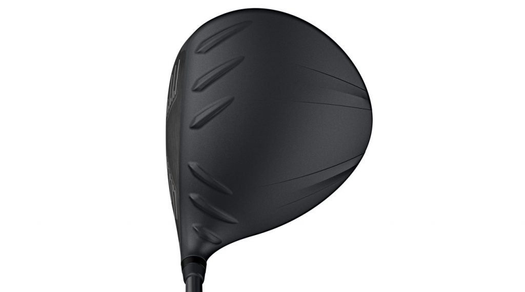 The crown on the Ping G410 LST driver.