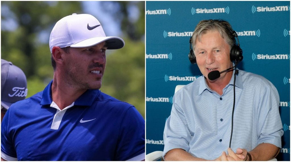 Brooks Koepka and Brandel Chamblee are at it once again.