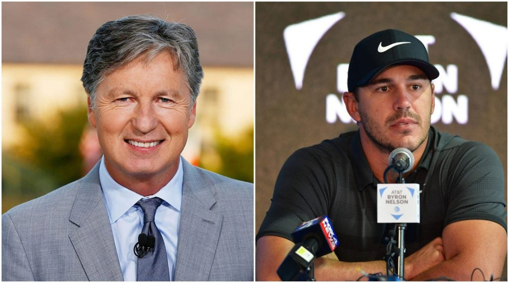 Brandel Chamblee is not backing down from his take on Brooks Koepka.