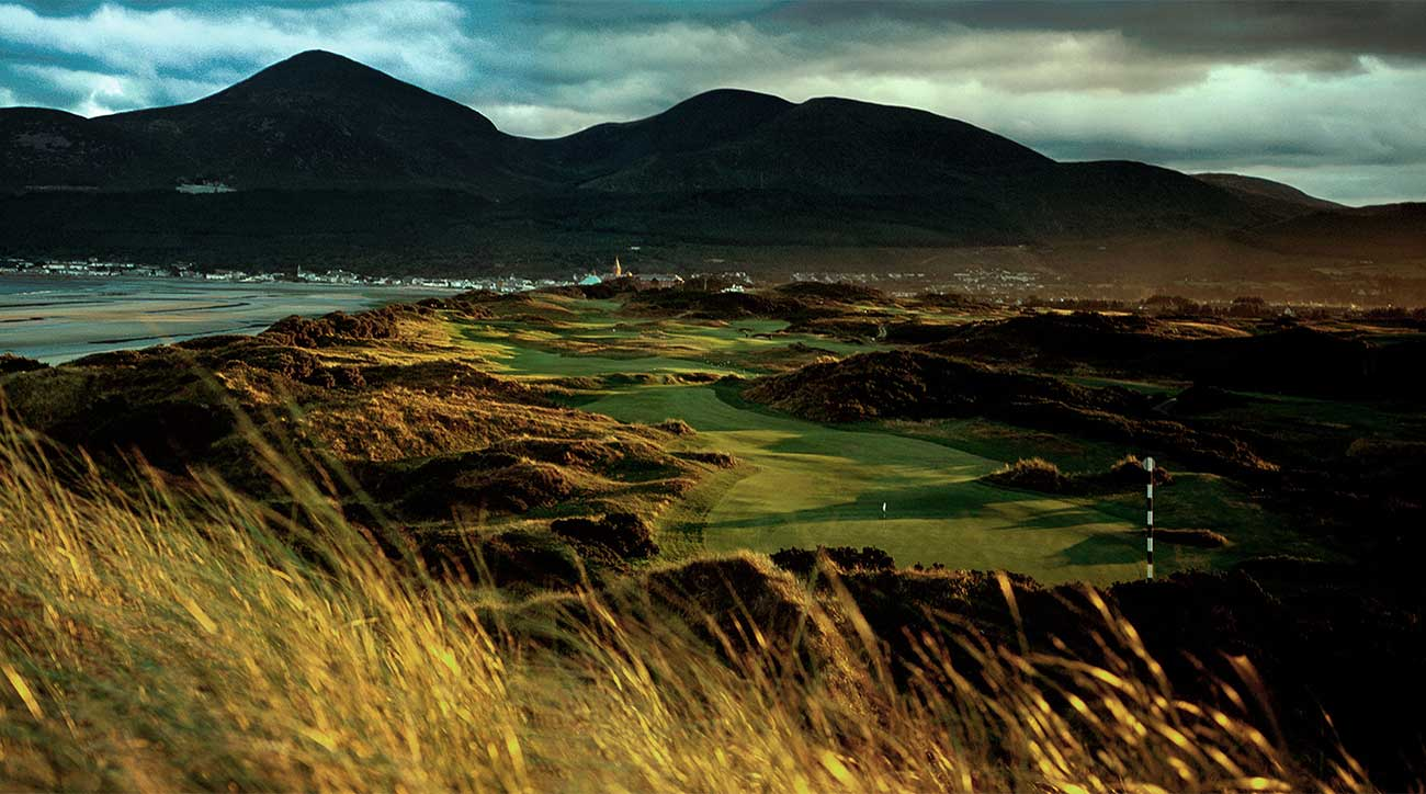 The 3rd hole at Royal County Down in Northern Ireland.